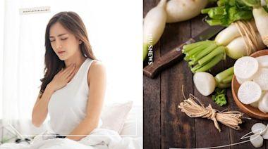 一直打嗝、胸口灼熱怎麼辦?可能有胃食道逆流徵兆,日本名醫:吃山藥、白蘿蔔改善 | 美人計 | 妞新聞 niusnews