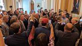 Democrats' new coronavirus mandates draw GOP fury: 'Kiss my mask'