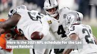 Las Vegas Raiders 2021 NFL schedule