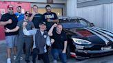 Tesla Model S Plaid modded by Unplugged Performance hits over 150 mph on Laguna Seca racetrack - Electrek