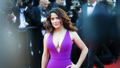 Salma Hayek Just Admitted Her Bikini Pics Aren't Exactly What They Seem