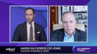 Yahoo Finance Talks with American Express CEO Stephen Squeri