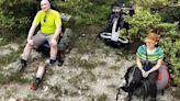 Google地圖驚見詭異登山客照片 他面帶笑容看鏡頭...一旁是斷腿!