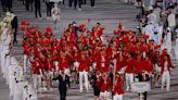 【東京奧運開幕禮】朱婷持旗率隊進場 向中國「說聲加油」