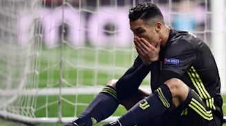 Juventus and Ronaldo put on brave face after tough Champions League night