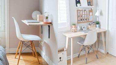 小房間也改造成功!隱藏系書房佈置方法:10樣百元邊桌、收納、小型桌椅推薦!