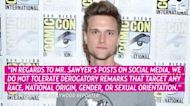 'The Flash' Star Hartley Sawyer Fired After Racist and Homophobic Tweets