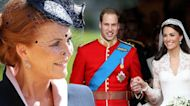 Sarah Ferguson Recalls Not Being Invited to Prince William and Kate Middleton's Wedding