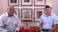 Mike Tirico and Collin Morikawa talk about PGA Tour Championship