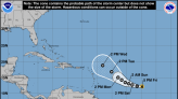 Hurricane Sam forms over open waters in the Atlantic; could become major storm on Saturday
