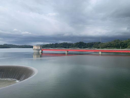 烟花颱風來勢洶洶 水庫快滿了加強防汛
