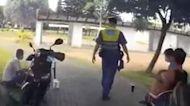 移工騎車不戴口罩 工業區遭警活逮