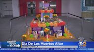 Day Of The Dead Alter Set Up In Downtown LA To Honor Our Heroes