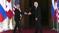 Biden and Putin meet at high-stakes summit in Geneva