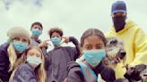 Heidi Klum and ex Seal's 4 children wear face masks in rare family photo