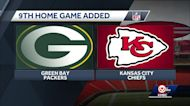 Chiefs add home game against the Green Bay Packers in NFL schedule expansion