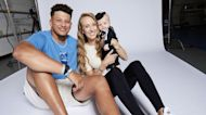 Patrick Mahomes And Brittany Matthews Post First Snaps Of Baby Girl Sterling's Face!