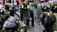 Peru swears in president Manuel Merino amid political turmoil