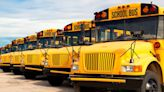 School bus driver collides with construction truck in Clay County