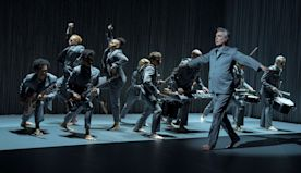 Your 26-Step Aerobics Workout to David Byrne's American Utopia