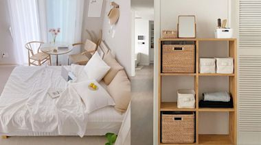 房間超小也有救! 10款『空間釋放小家具』百元打造憧憬日系女子套房!