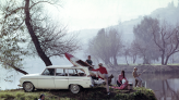 30 Vintage Photos of Classic American Road Trips