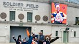 Chicago Bears blindside their 'Fan of the Year' at Soldier Field with surprise Super Bowl package: 'I can't believe this'