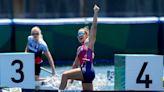 American teen Harrison wins first Olympic women's canoe 200