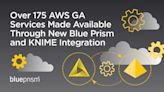 Blue Prism Expands AWS Relationship with Availability of 175+ AWS Global Accelerator Services enabled by KNIME to Power Intelligent Automation in the Cloud