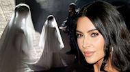 Kim Kardashian Wears Wedding Gown at Kanye West's 'Donda' Event