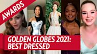 Top 5 Best Dressed Stars at the Golden Globes — Watch!