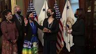 Haaland sworn in as first Native American U.S. Cabinet secretary