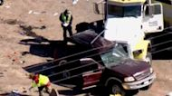 SUV packed with 25 people crashes