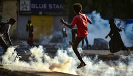 Sudan's anti-coup protests draw heavy handed crackdown