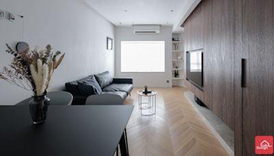大廳廚房同是鑽石型 新建木牆結合趟門設計解決所有疑難 - Price 最新情報