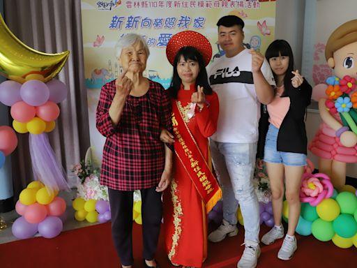 超強媽媽阮麗娟1打6挺過難熬日子 獲頒雲林縣模範母親
