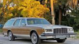 This 1988 Buick LeSabre Estate Wagon looks like a boxy, wood-sided bargain