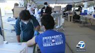 COVID hospitalizations continue to decline in LA County