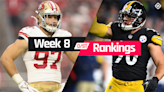 Fantasy Defense Rankings Week 8: Who to start, sit at D/ST in fantasy football