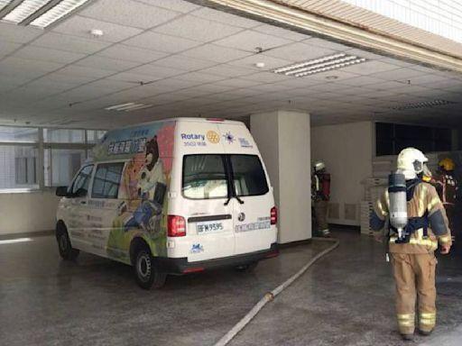 衛福台南醫院新化分院火警 25名病患轉回總院中
