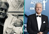 Michael Douglas Meets One-Month-Old Grandson Ryder For The First Time