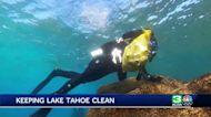 Dive teams tackle Lake Tahoe garbage problem