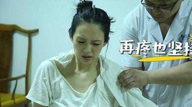 章子怡為拍戲左肩脫臼痛到哭了 汪峰不捨「這傷沒全好」