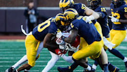 With the nation's No. 1 run defense waiting, Michigan football's ground game in peril