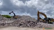 Recovery Efforts Near End at Surfside Condominium Collapse Site