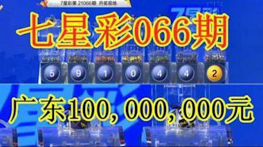 國內53個億元獎全回顧:廣東七星彩1億巨獎排第53