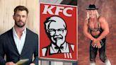 Chris Hemsworth prepares to play Hulk Hogan with $72 worth of KFC
