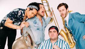Lucky Chops: Brass Funk Band Discusses How Their New Album Is Full of 'Joy' and 'Positive Passion'