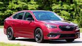 2020 Subaru Legacy Ride and Handling Shine
