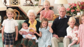 The Royal Family Shares a Rare Family Photo of Prince Philip and His Great-Grandchildren